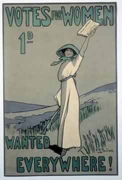 Suffragist or Suffragette