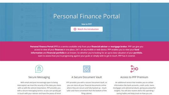 Personal Finance Portal